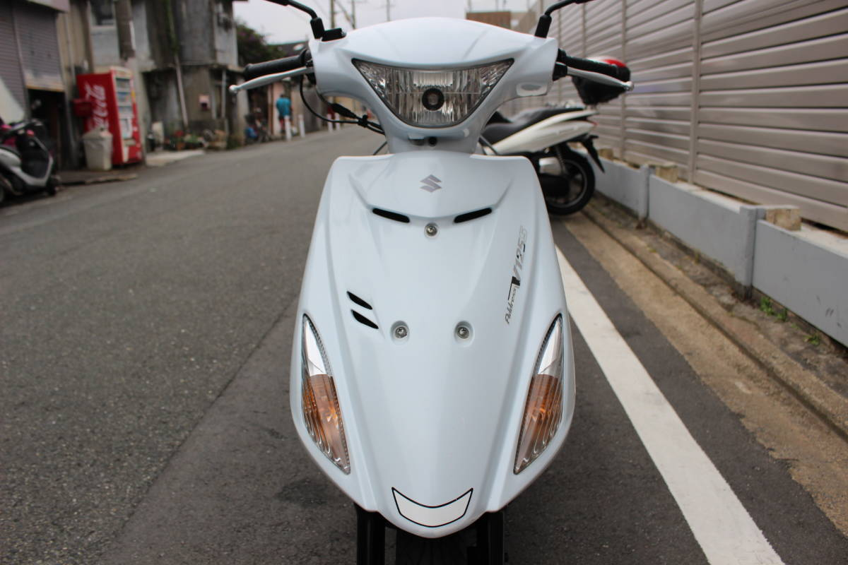 「大阪~整備済み アドレスV125S 低走行 ノーマル車両 エンジン好調 即決有り お引き取り、全国陸送、フェリー発送OK!!」の画像3