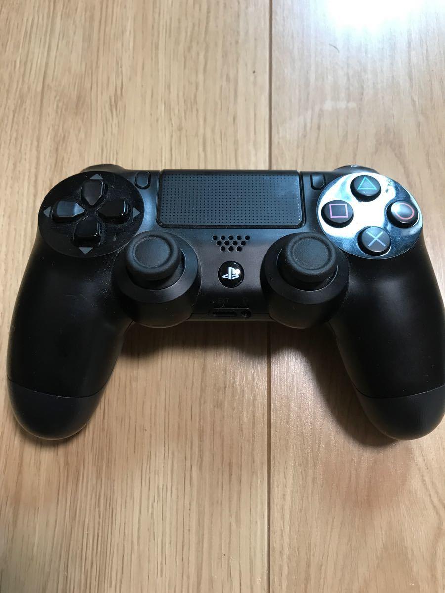 【純正アクセサリー・箱付き】PlayStation4 ジェット・ブラック 500GB CUH-1200AB01