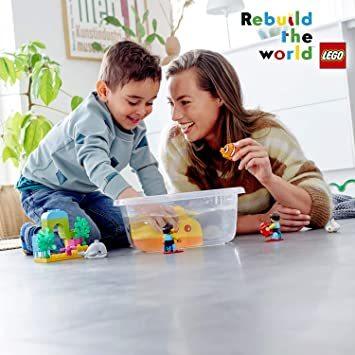 レゴ(LEGO) デュプロ 世界のどうぶつ サブマリンの水中探検 10910 知育玩具 ブロック おもちゃ 女の子 男の子_画像5