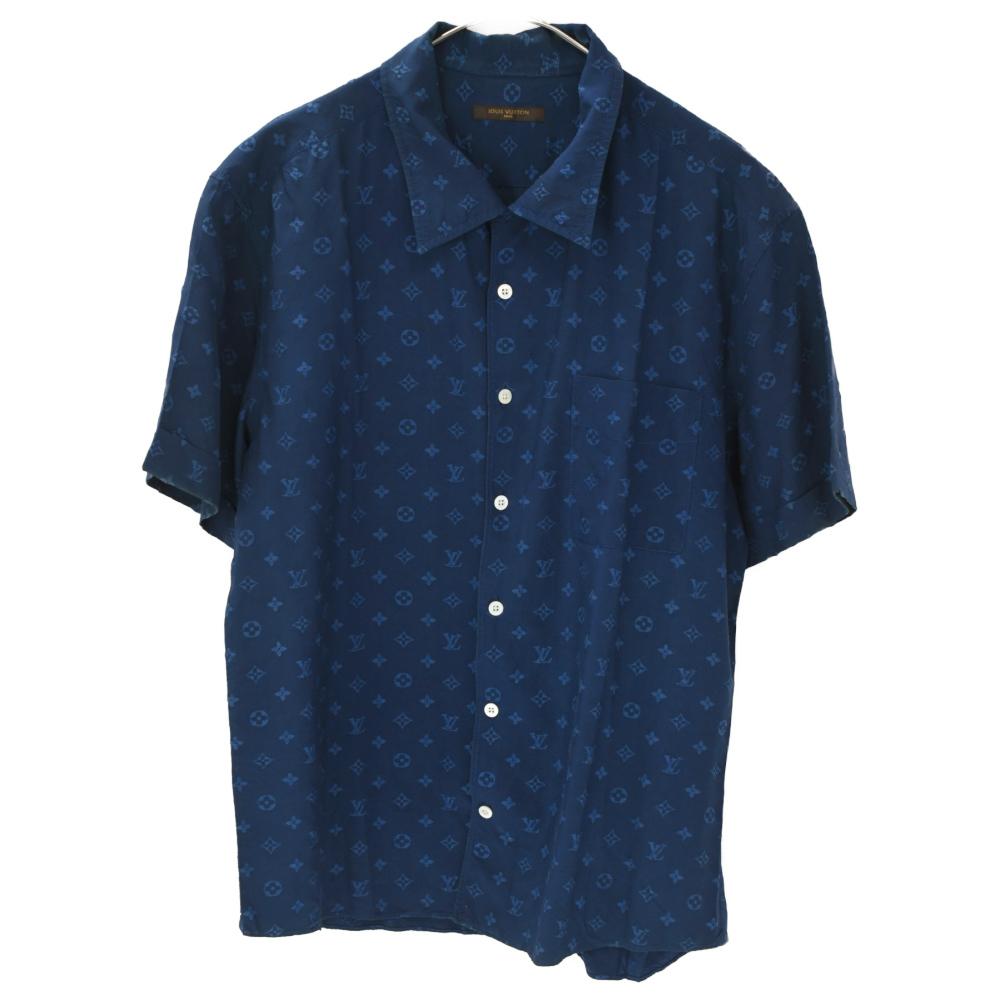 LOUIS VUITTON (ルイヴィトン) モノグラム オープンカラーシャツ_画像1