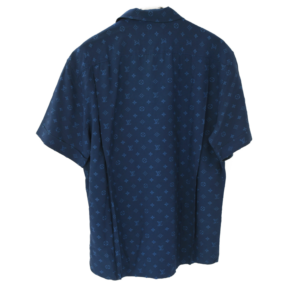 LOUIS VUITTON (ルイヴィトン) モノグラム オープンカラーシャツ_画像2