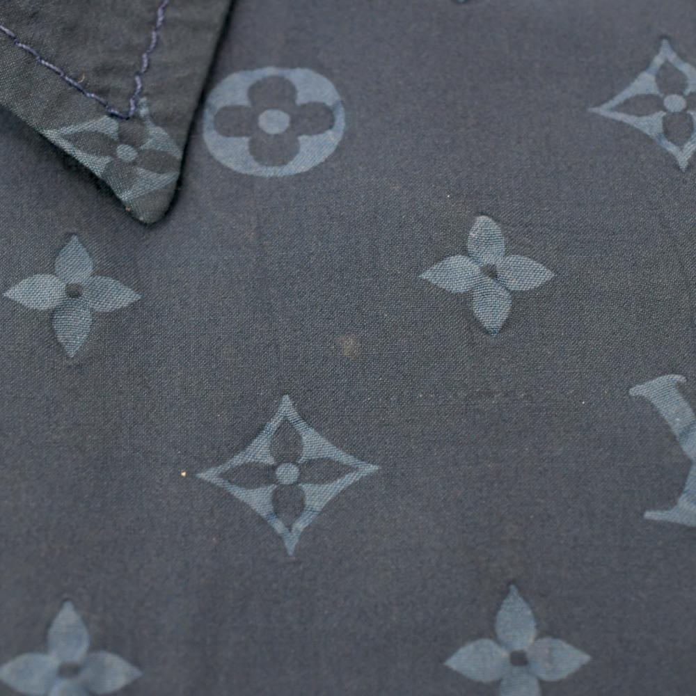 LOUIS VUITTON (ルイヴィトン) モノグラム オープンカラーシャツ_画像5