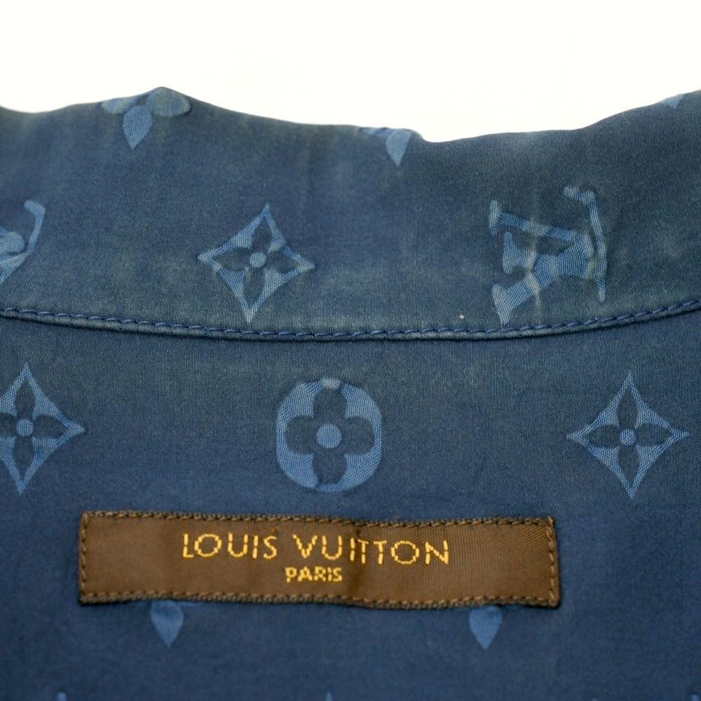 LOUIS VUITTON (ルイヴィトン) モノグラム オープンカラーシャツ_画像4