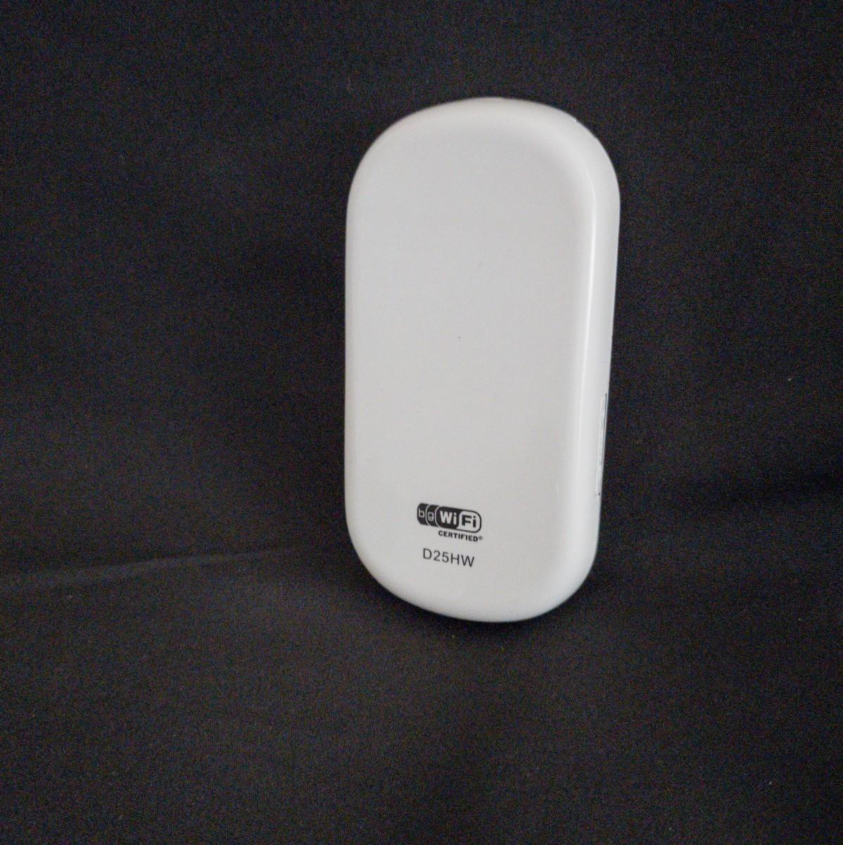 Pocket WiFi SIMフリー モバイルルーター HUAWEI D25HW Wi-Fi