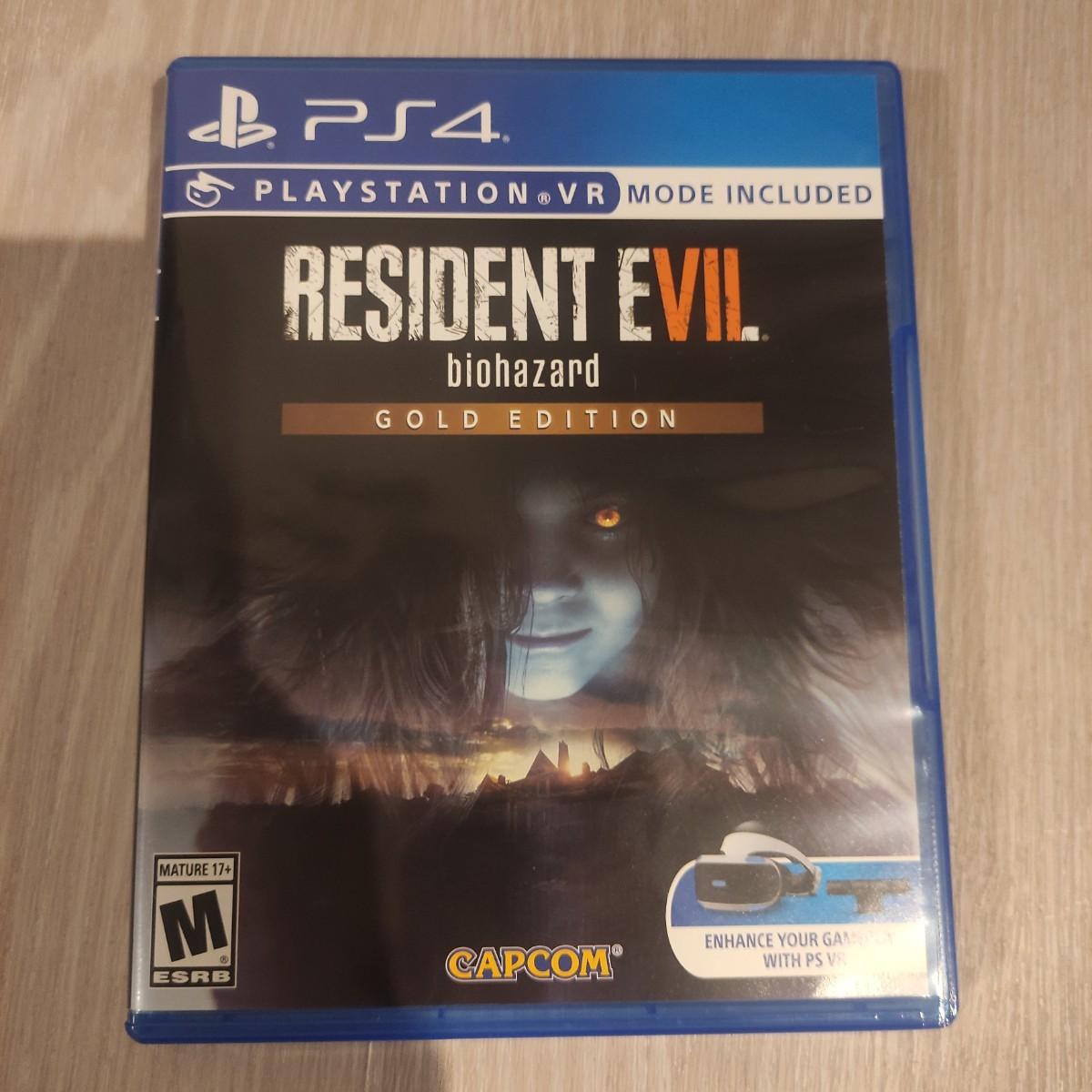 北米版 RESIDENT EVIL PS4 BIOHAZARD EDITION GOLD PSVR バイオハザード7