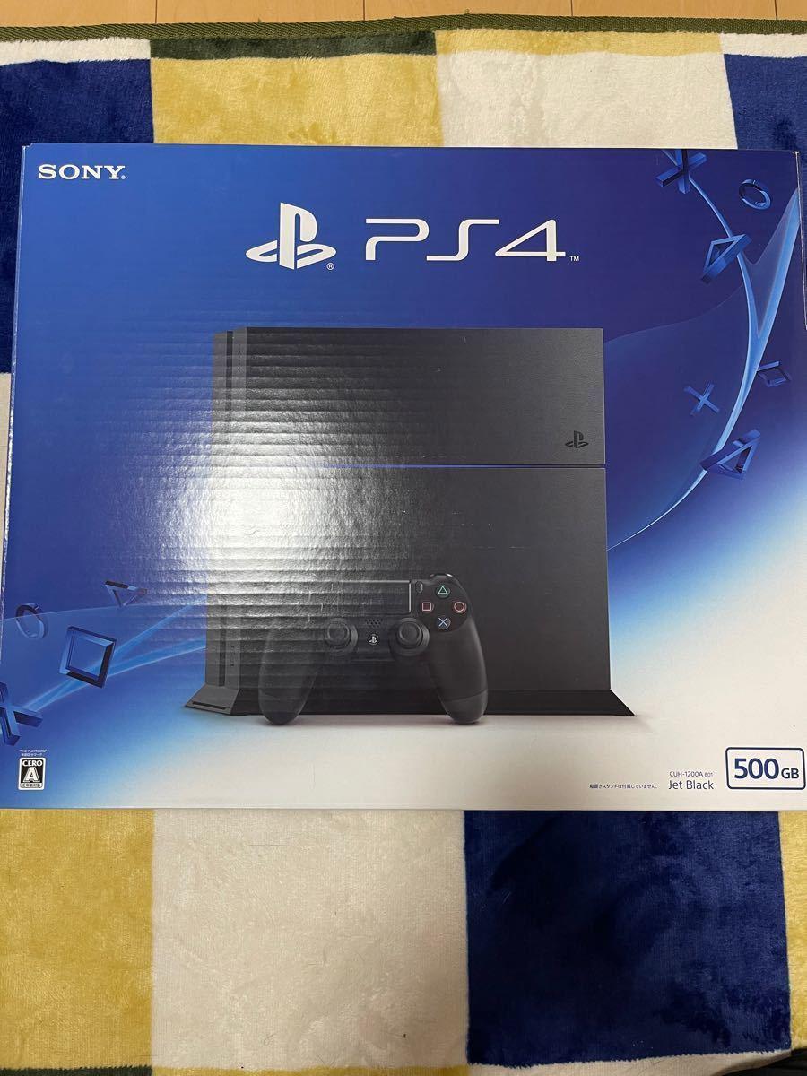 PlayStation4  ジェットブラック 500GB CUH-1200A B01