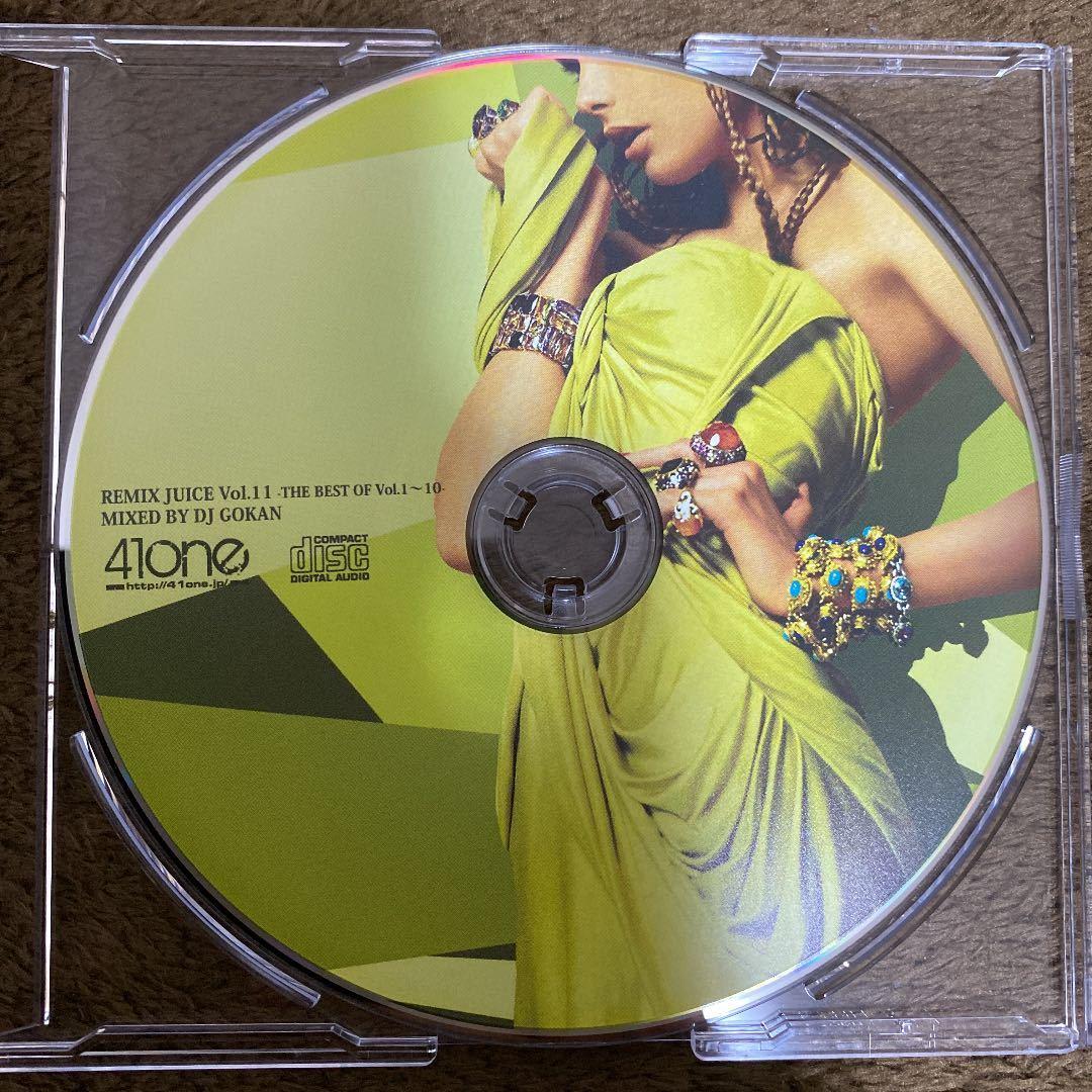 【DJ GOKAN】REMIX JUICE Vol.11 -THE BEST OF Vol.1~10-【MIX CD】【廃盤】【HIPHOP / R&B】【送料無料】