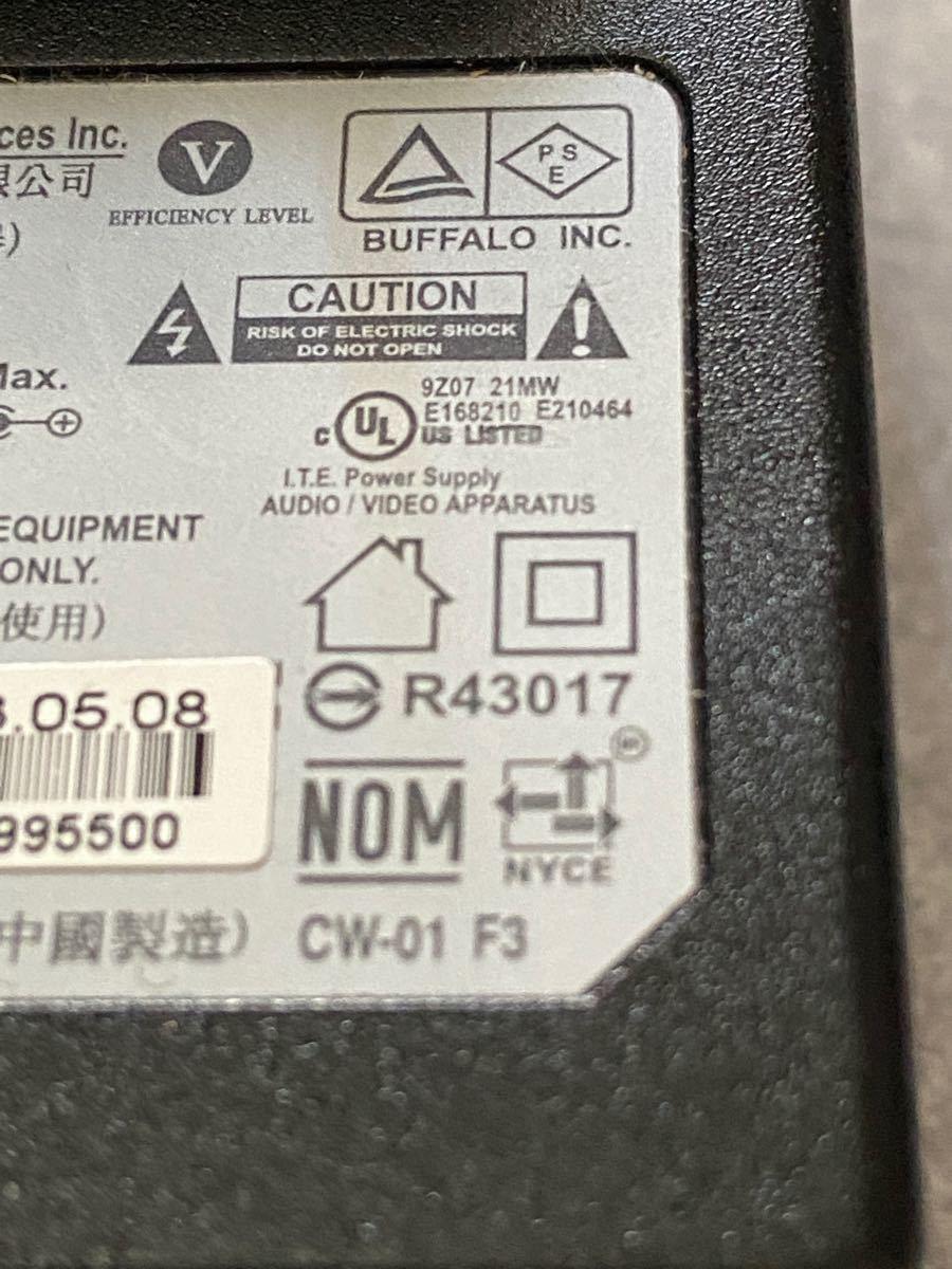 BUFFALO バッファロー  WA-36A12U 無線LAN 外付けHDD用 ACアダプター 電源コード