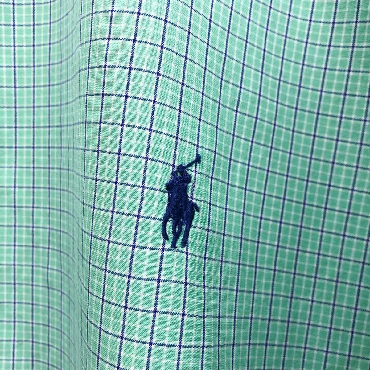 ラルフローレン POLO Ralph Lauren Polo 半袖シャツ メンズ ワンポイント 2XLサイズ (XXLサイズ) 7-152_画像4