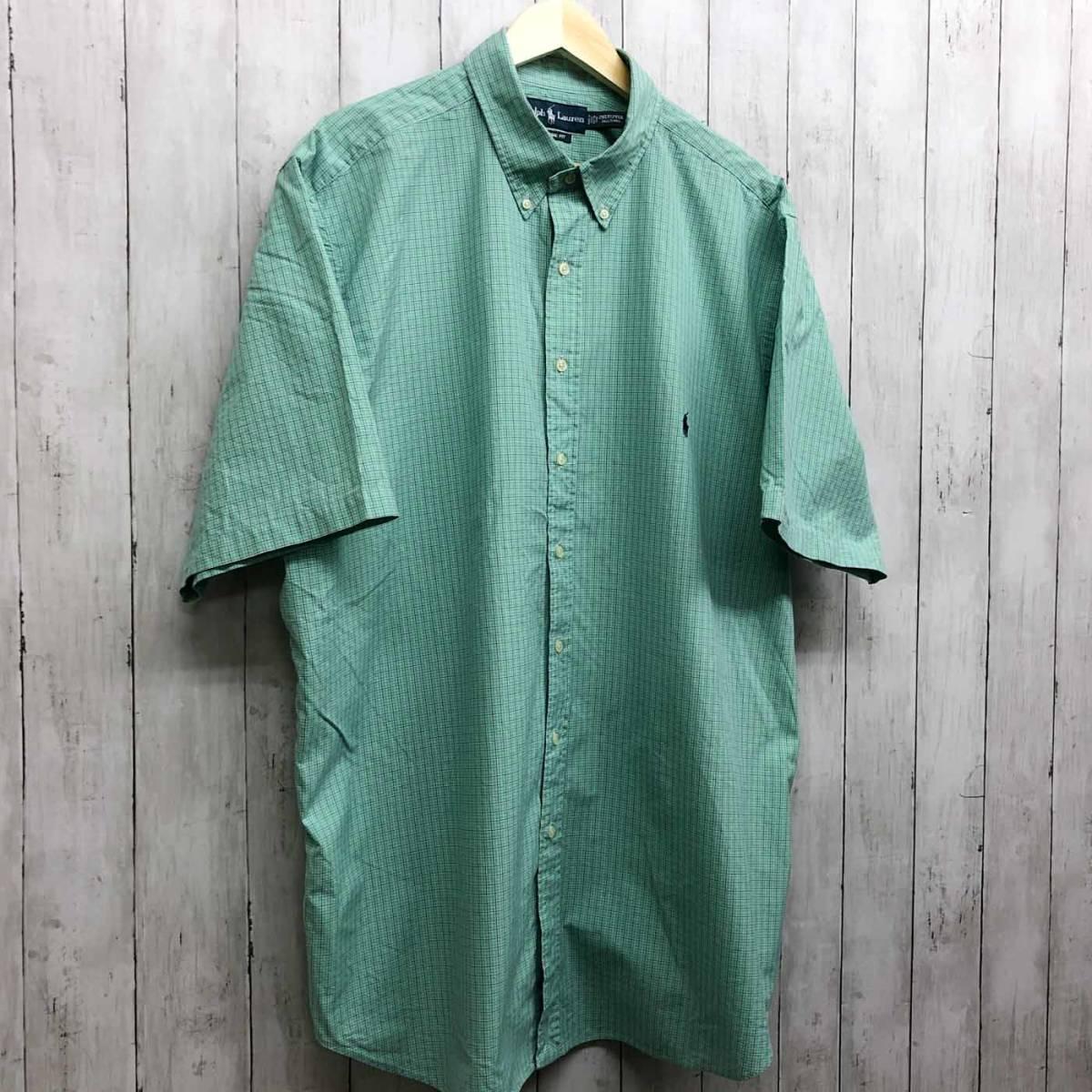 ラルフローレン POLO Ralph Lauren Polo 半袖シャツ メンズ ワンポイント 2XLサイズ (XXLサイズ) 7-152_画像3
