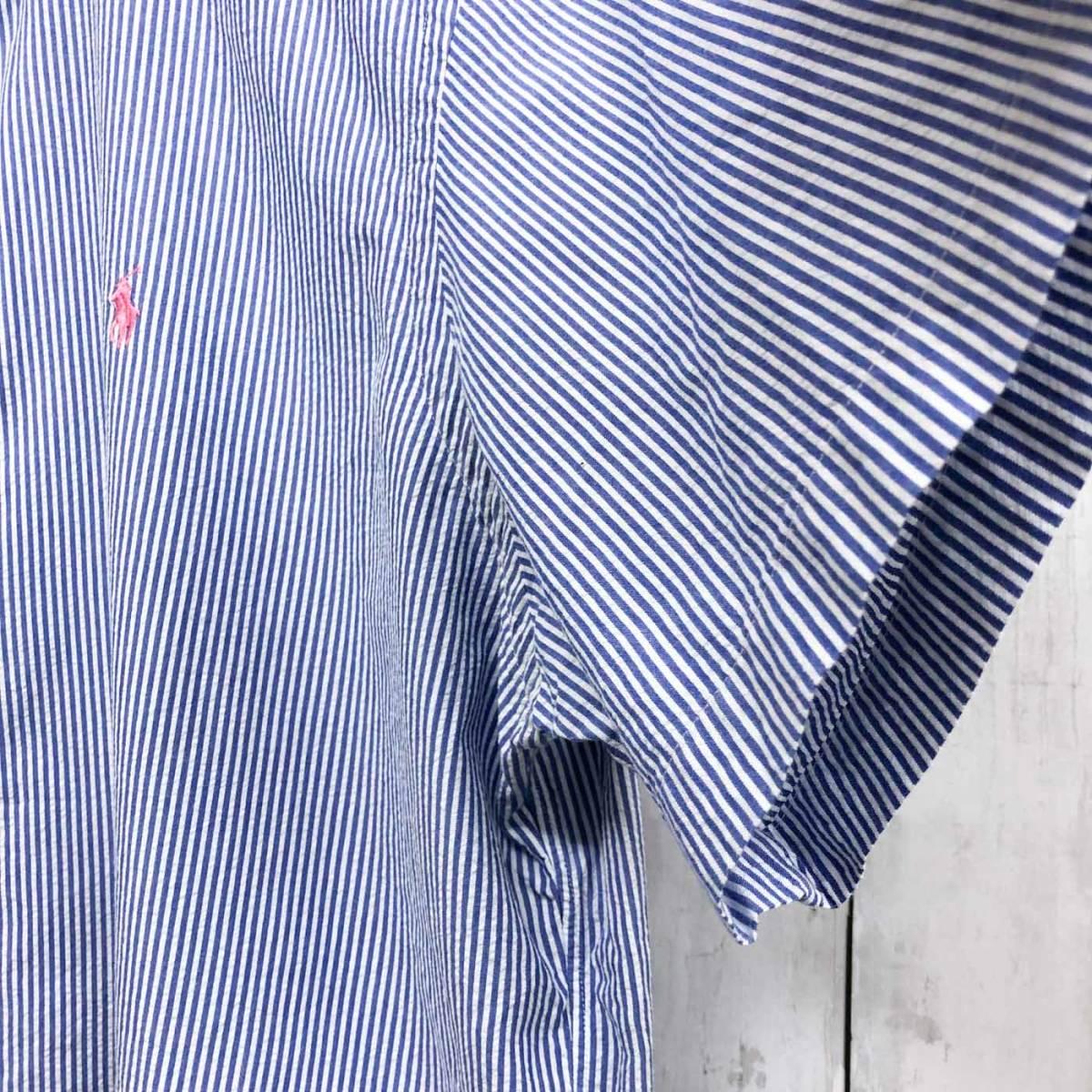 ラルフローレン POLO Ralph Lauren Polo 半袖シャツ メンズ ワンポイント XLサイズ 7-158_画像7