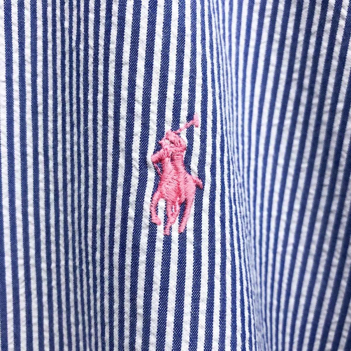 ラルフローレン POLO Ralph Lauren Polo 半袖シャツ メンズ ワンポイント XLサイズ 7-158_画像4