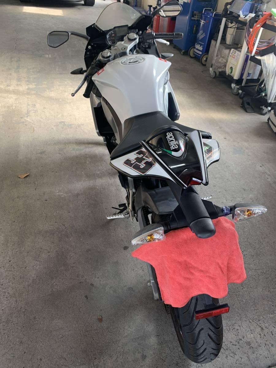 「アプリリア RS4 125 SBK 125cc ファミリーバイク保険」の画像3
