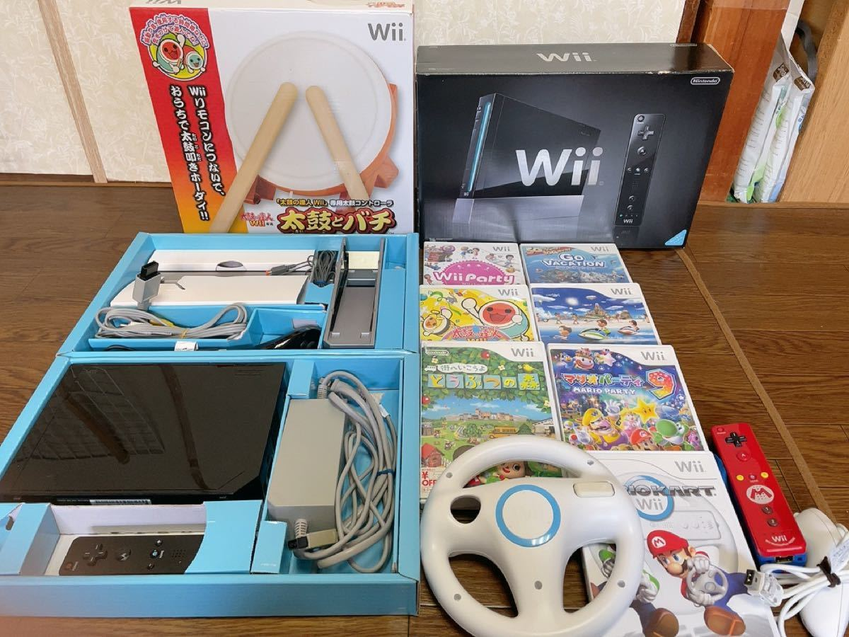 wii 本体 ソフト まとめ売り