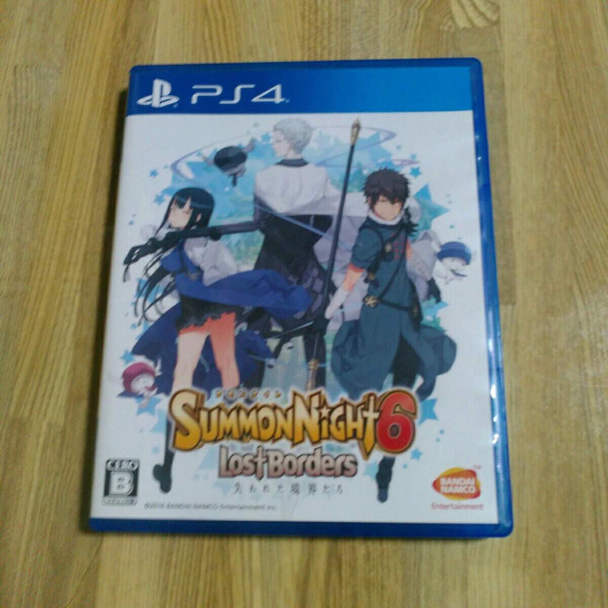 PS4 ワールドオブファイナルファンタジー サモンナイト6 二本セット スクウェアエニックス バンダイナムコ  PS4ソフト