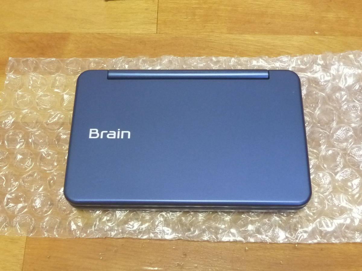 展示美品■SHARP 電子辞書 Brain PW-SB5-K 大学生・ビジネスモデル_画像2