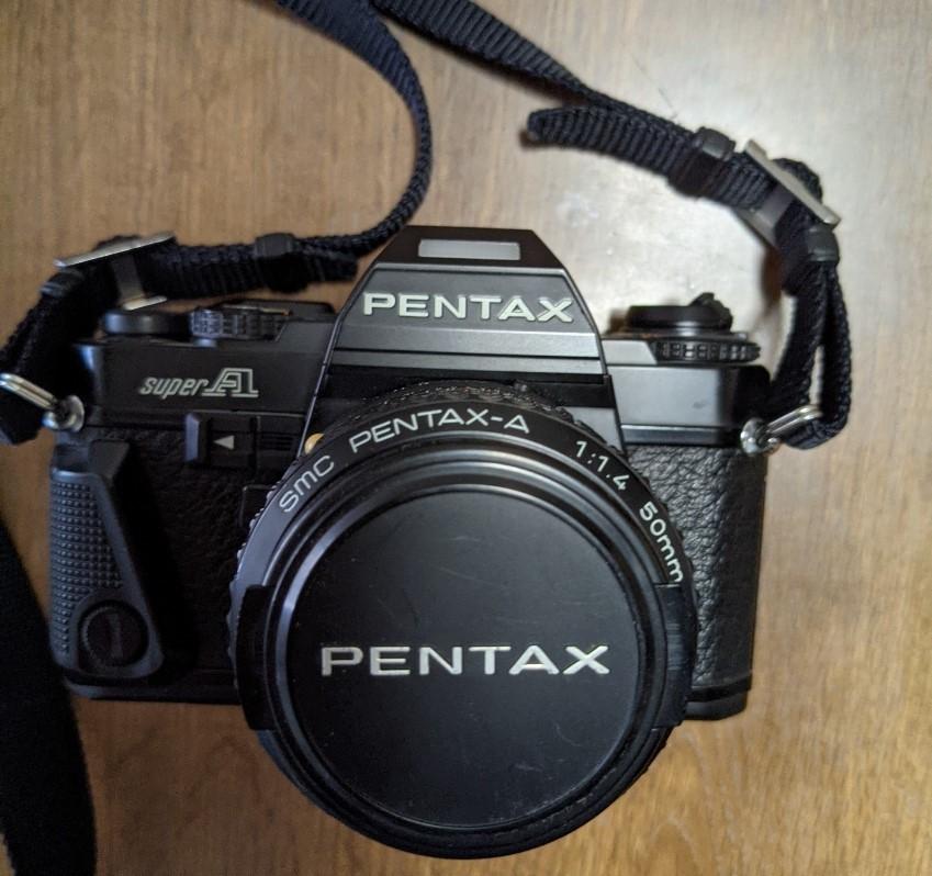 【SUPER-A】スーパーA PENTAX ペンタックス 旭光学工業1983年_画像3
