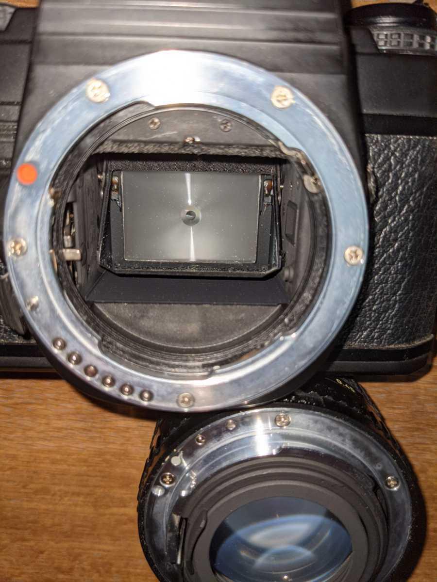 【SUPER-A】スーパーA PENTAX ペンタックス 旭光学工業1983年_ストロボで白っぽいですが埃カビありません