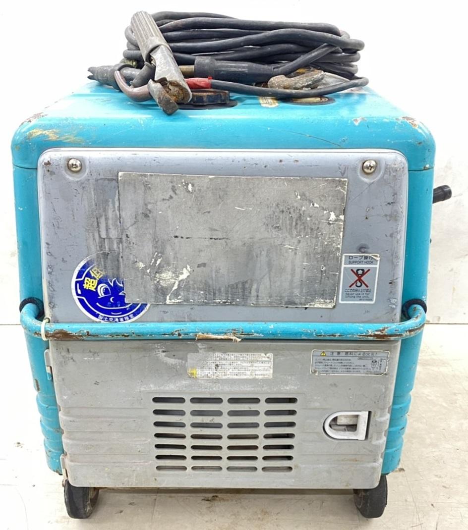 【372599】★確認動画有り★ デンヨー GAW-150ES エンジン ウェルダー 溶接機 発電機 2391h 防音型 インバーター 管)j0621-1-2c_画像4