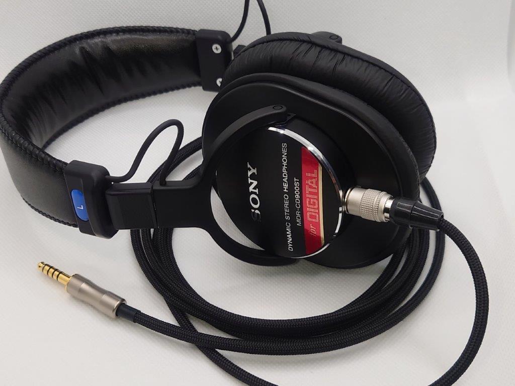 プロ用ケーブル脱着仕様 SONY MDR-CD900ST _画像1