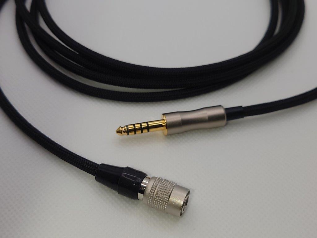 プロ用ケーブル脱着仕様 SONY MDR-CD900ST _付属のケーブル (2.5mm4極への変更可能)