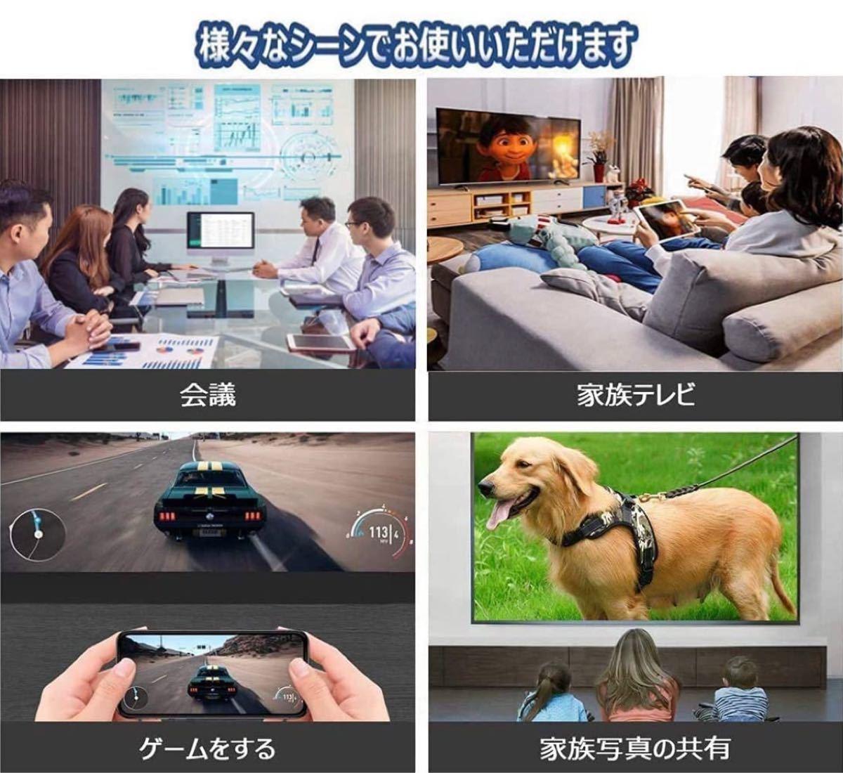 [新品] HDMI 変換アダプタ コネクタケーブル テレビ YouTube 視聴