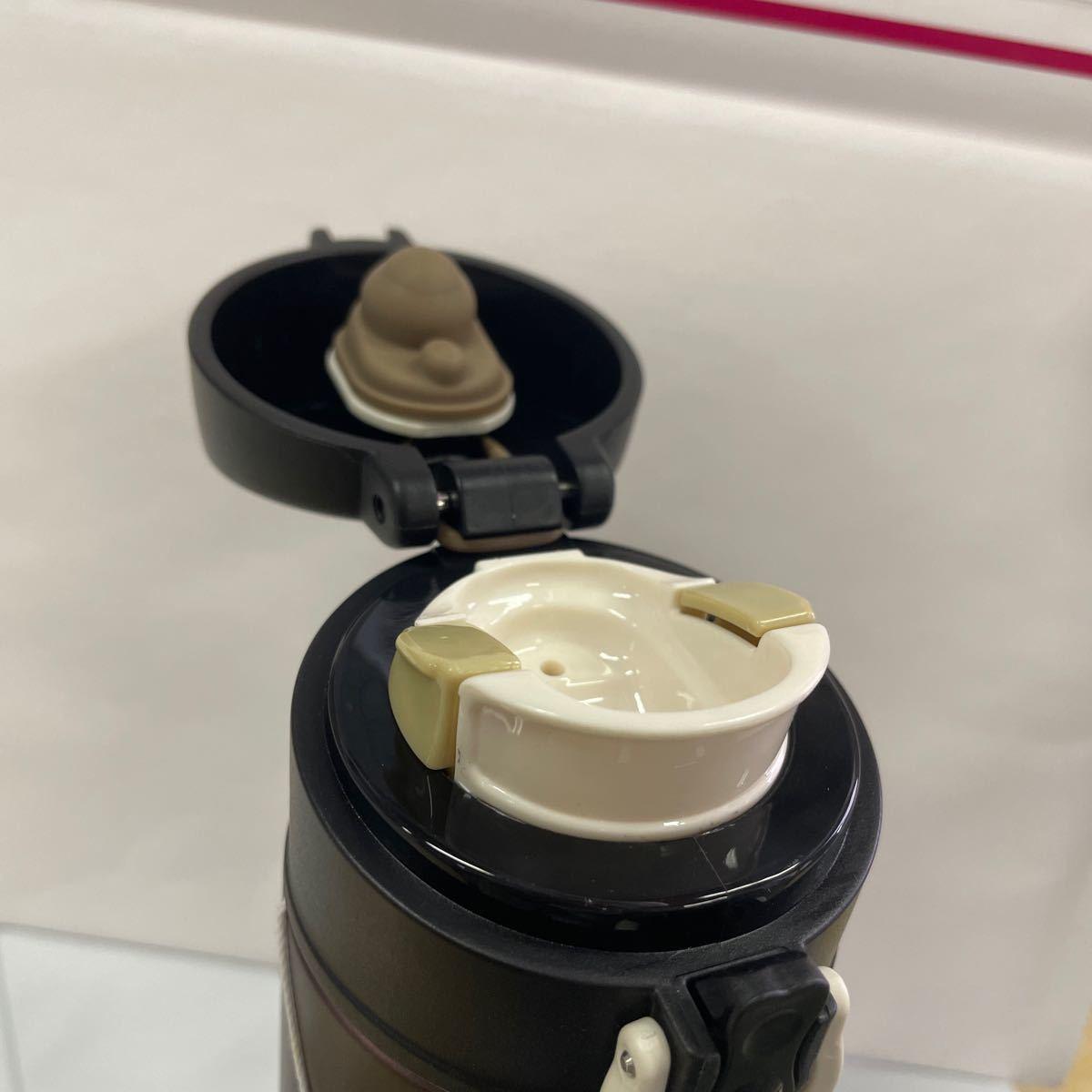 水筒  ステンレスボトル 保温保冷 ブラック