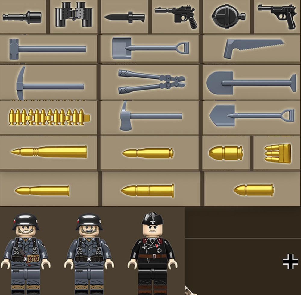 マルダーIII 第二次世界大戦期 ドイツが 対戦車自走砲 戦車 タンク ブロック ミニフィグ レゴ 互換 LEGO 互換 テクニック フィギュア_画像4