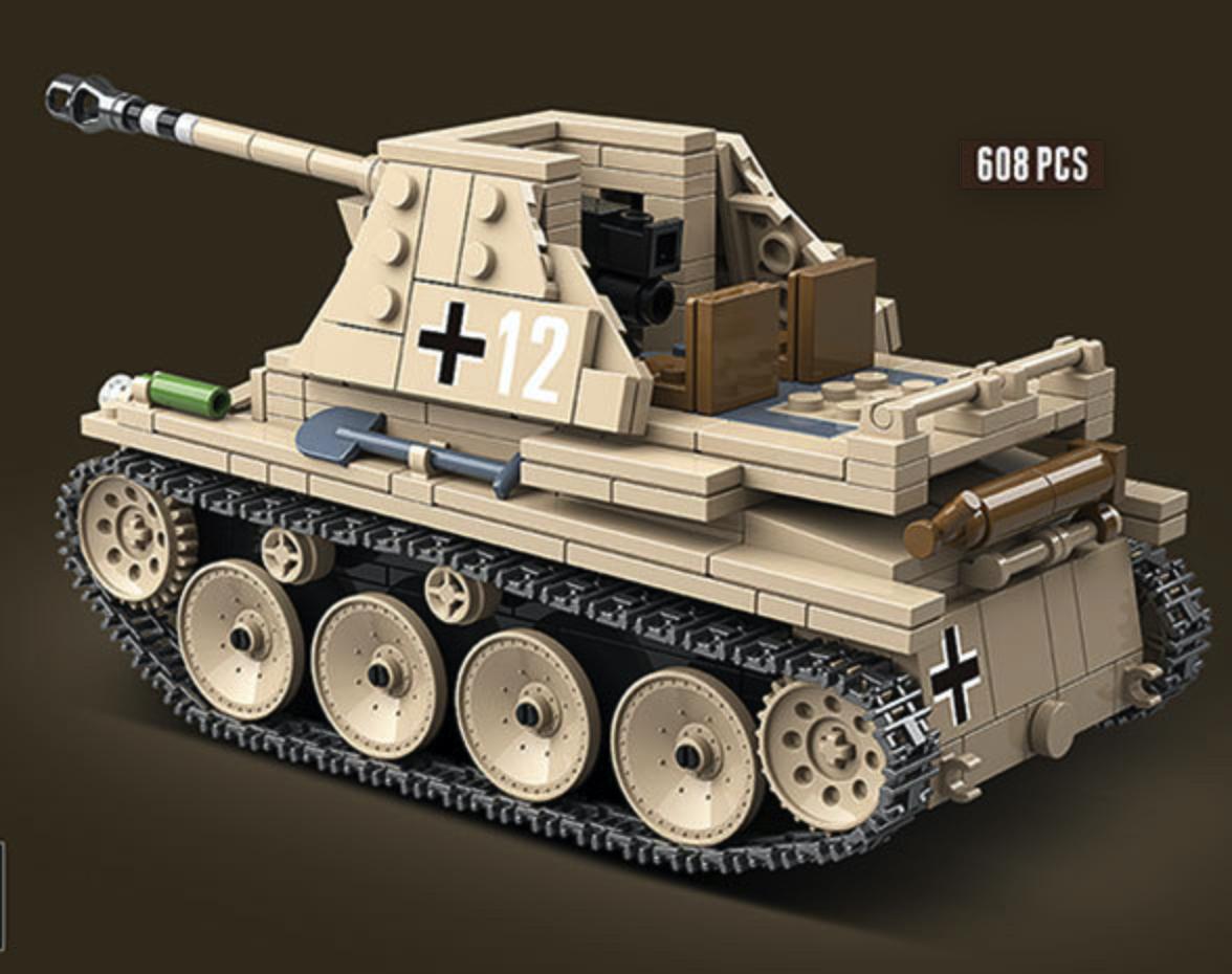 マルダーIII 第二次世界大戦期 ドイツが 対戦車自走砲 戦車 タンク ブロック ミニフィグ レゴ 互換 LEGO 互換 テクニック フィギュア_画像5