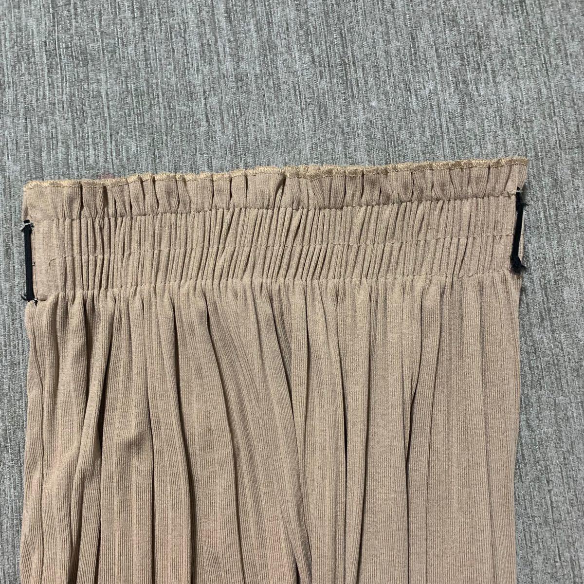 タイトスカート ロングスカート プリーツスカート