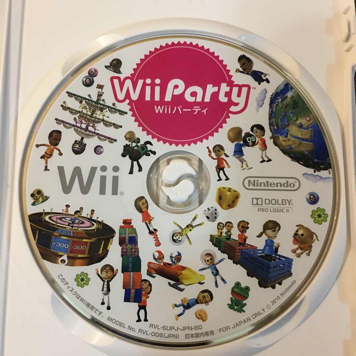 Wiiソフト Wii Party Wiiパーティ