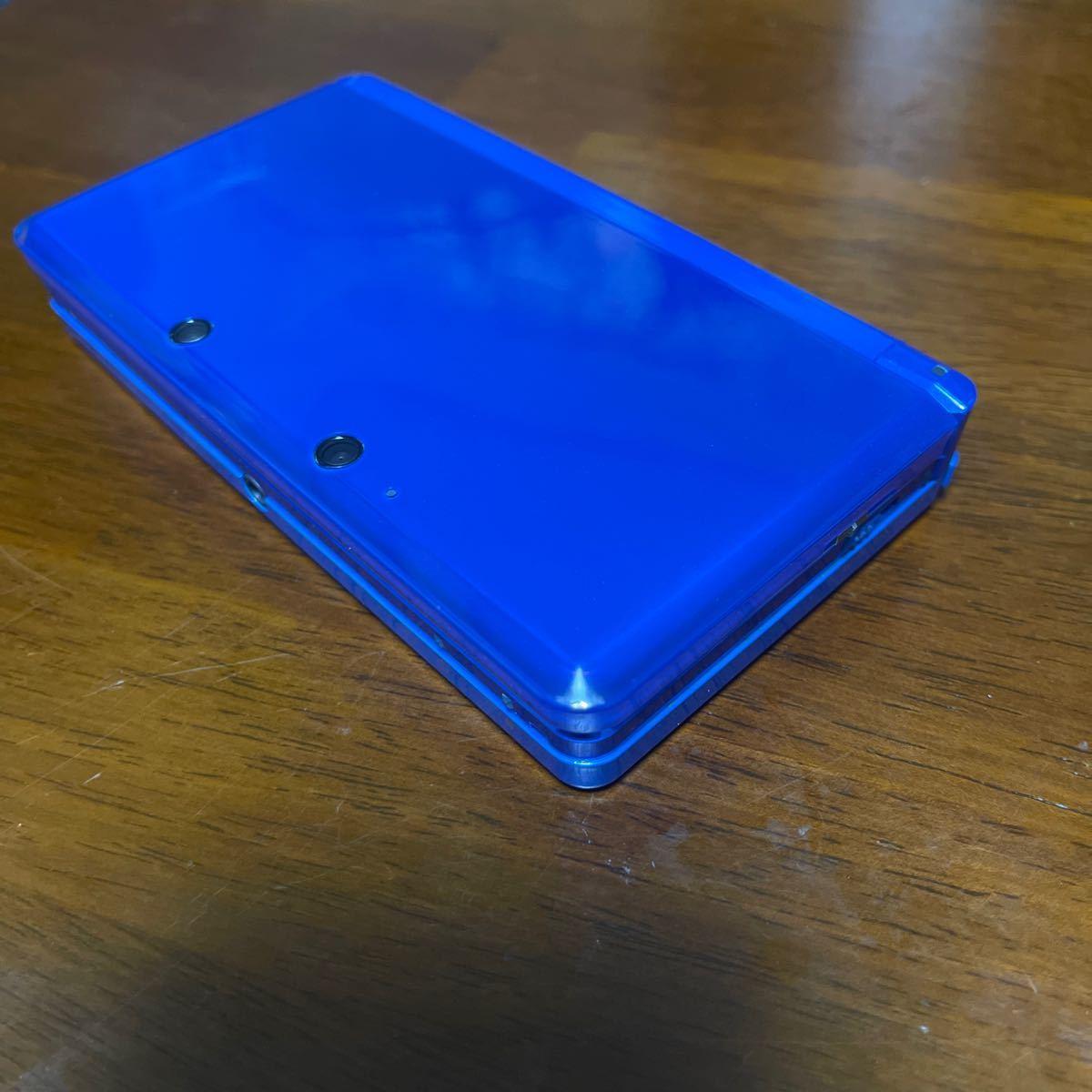 ニンテンドー3DS本体 ブルー