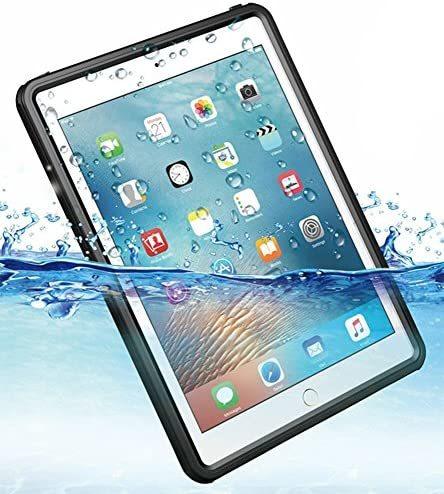 iPad 9.7インチ 2017 2018 完全 防水ケース 耐震 防雪 防塵 耐衝撃 カバー 全面保護 IP68防水規格 アイパッドケース アイパッドカバー_画像1
