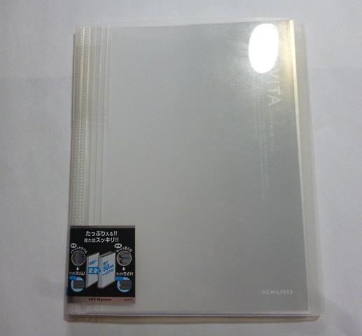 コクヨ★クリヤーブック ラ-730G ×2個 A4縦 30穴 / ノビータ ラ-N40T A4 40枚 ファイル  _画像5