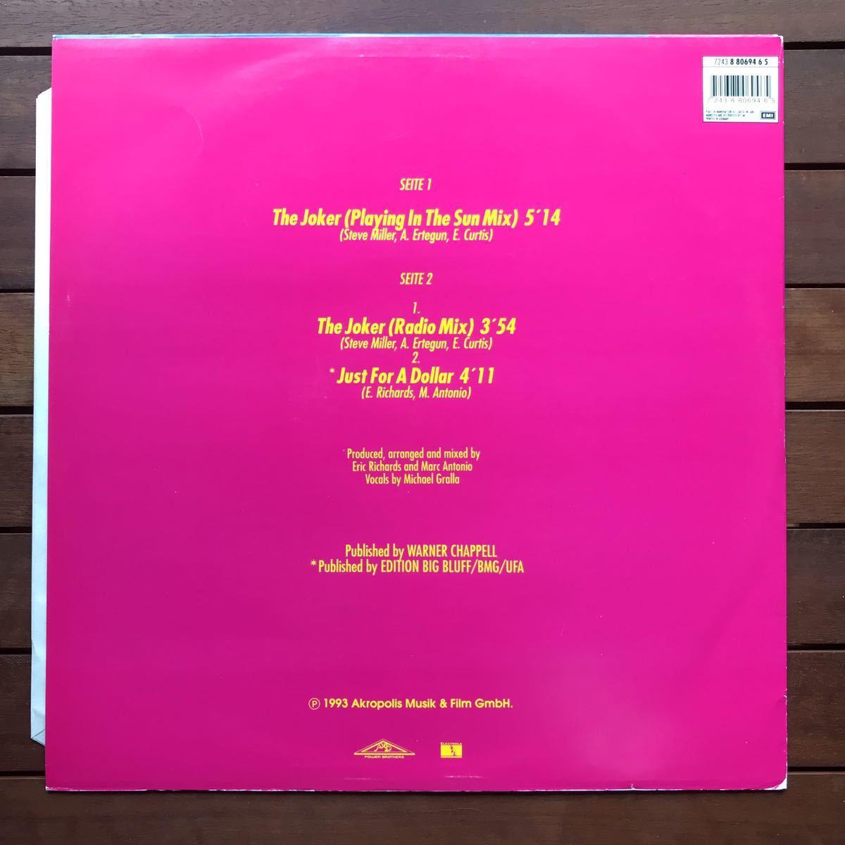 ●【r&b】Enforce / The Joker[12inch]オリジナル盤《2-1-46 9595》
