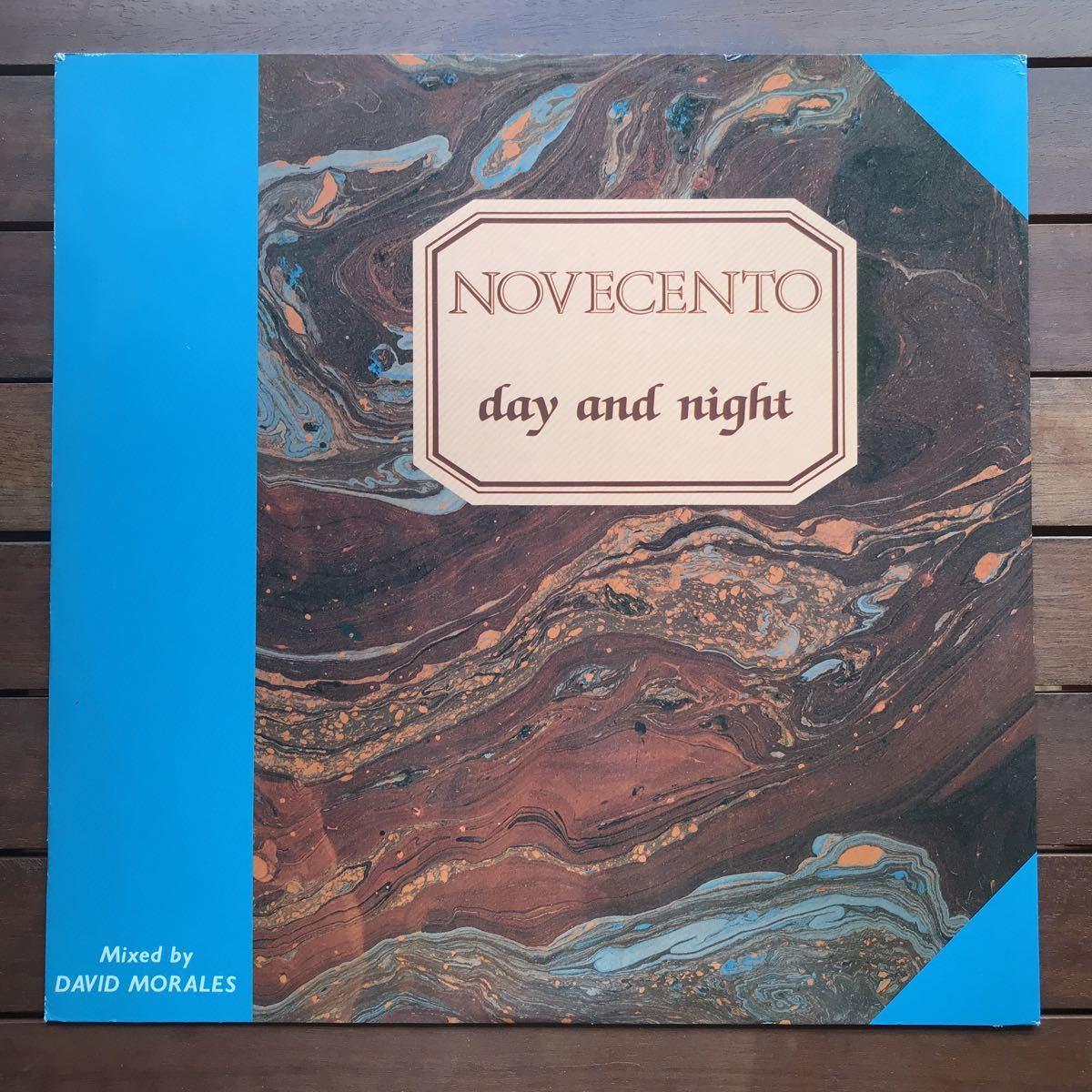 ●【r&b】Novecento / Day And Night[12inch]オリジナル盤《2-1-49 9595》
