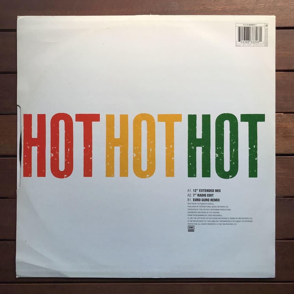 ●【r&b】Splash / Hot Hot Hot[12inch]オリジナル盤《2-1-52 9595》
