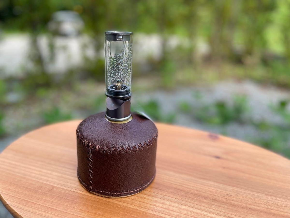 ヌメ革 ガス缶カバー OD缶カバー 250 レザー