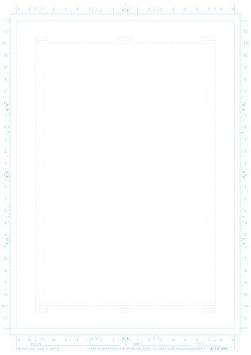 ★2時間限定★アイシー マンガ原稿用紙 A4 厚135kg IM-35A_画像2