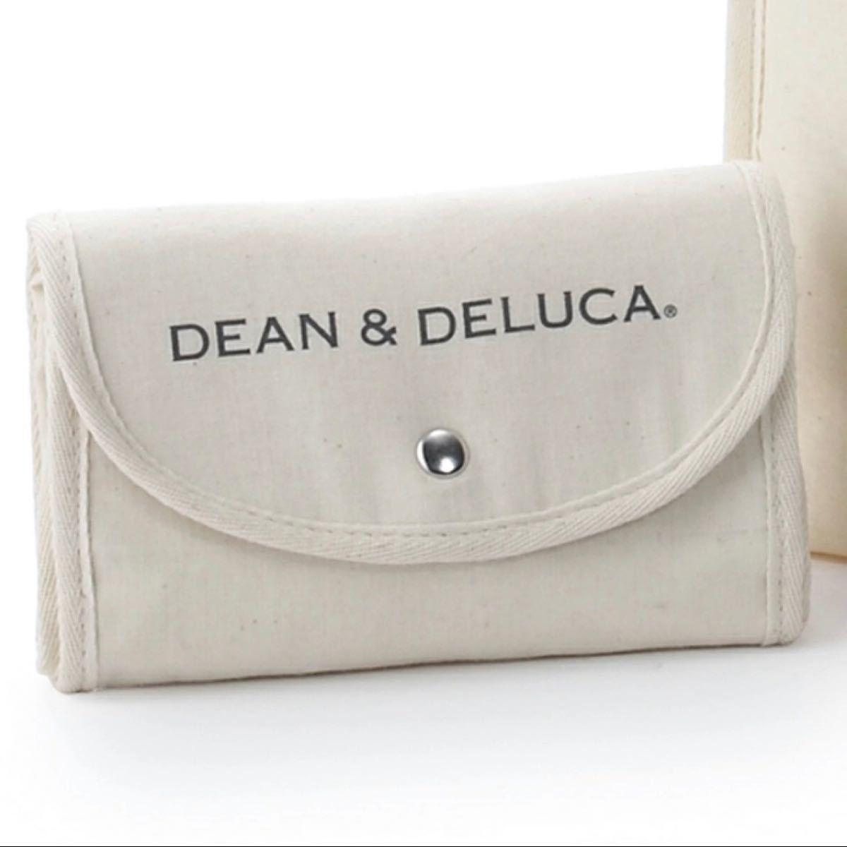 DEAN&DELUCA ディーン&デルーカ 折りたたみ エコバッグ トートバッグ
