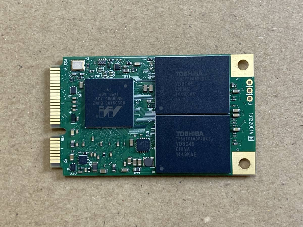 Plextor PX-512M6M MLC mSATA 512GB SSD 東芝チップ