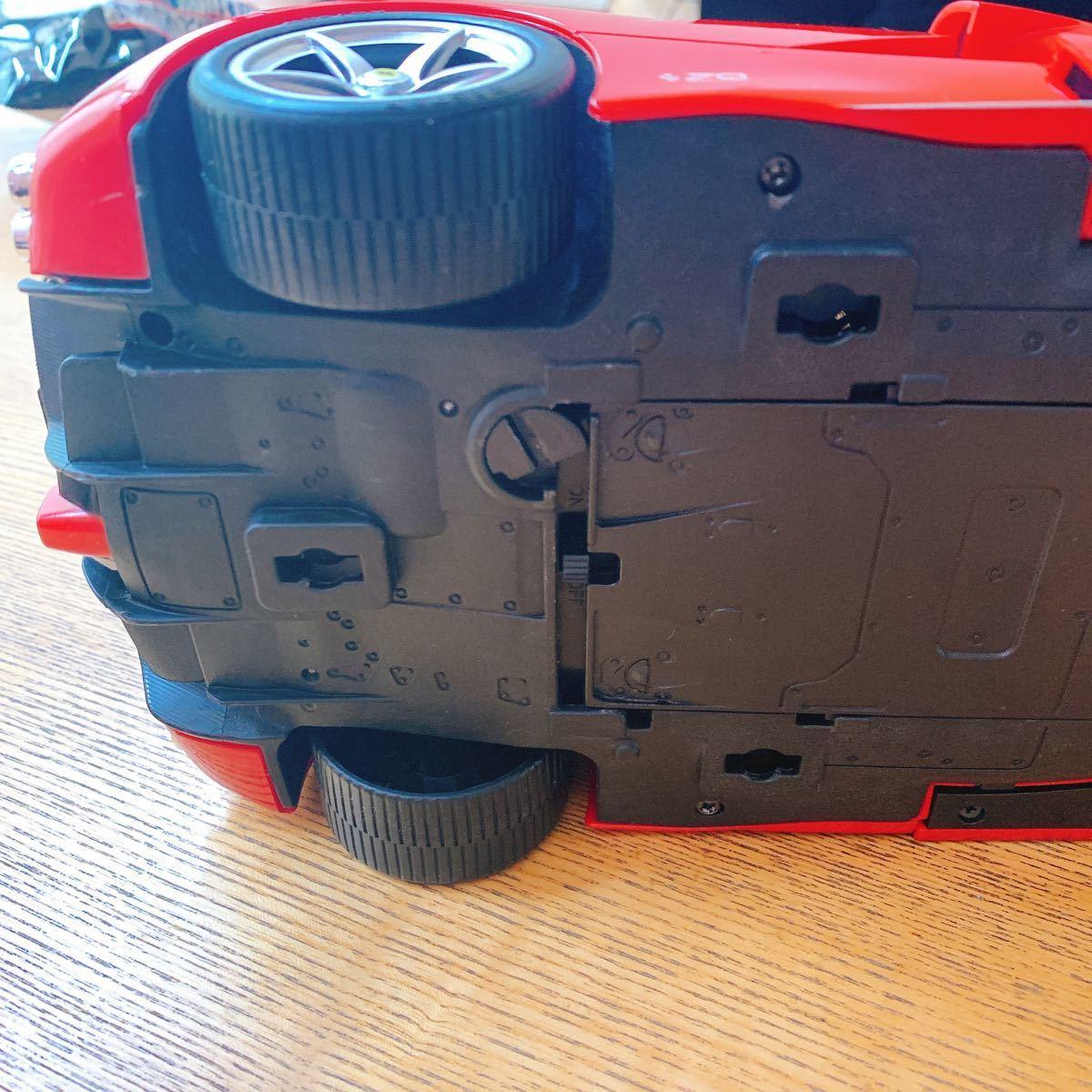 RASTAR ラジコンカー 1/14 ラ フェラーリ アペルタ (手動開閉ドア&ドリフト) 中古美品 フェラーリ 完成品