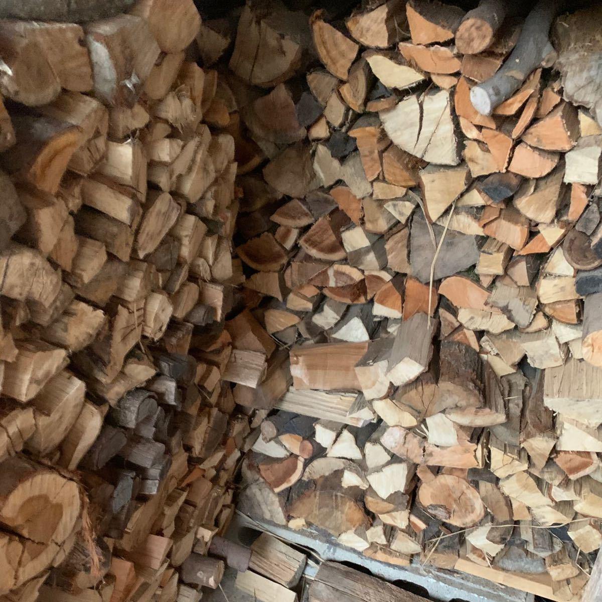 薪 広葉樹 ミックス 25キロ