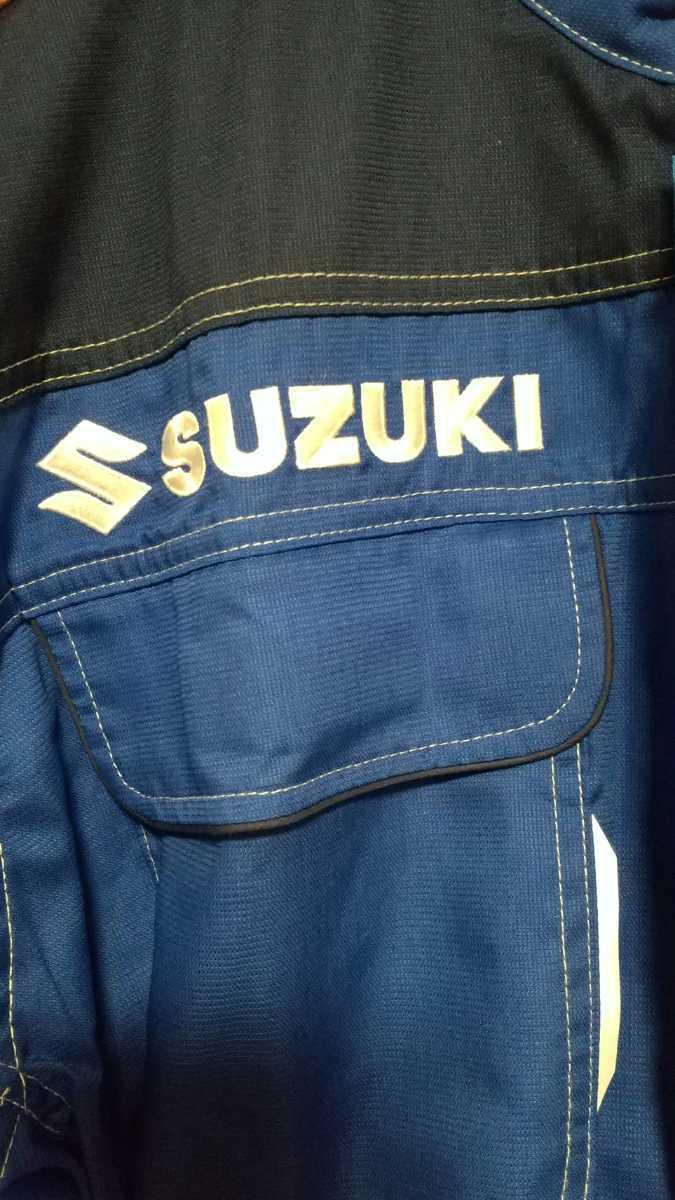 【未使用】SUZUKI スズキ自動車 つなぎ 作業着 M 送料無料!急発送!_画像10