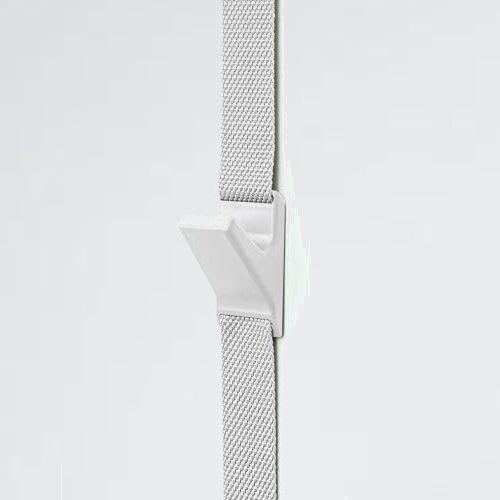 新品 未使用 (like-it) ライクイット 7-PQ 日本製 NDH-01 壁掛け 収納 ドアフック 幅4x奥4x高~240cm ホワイト_画像1