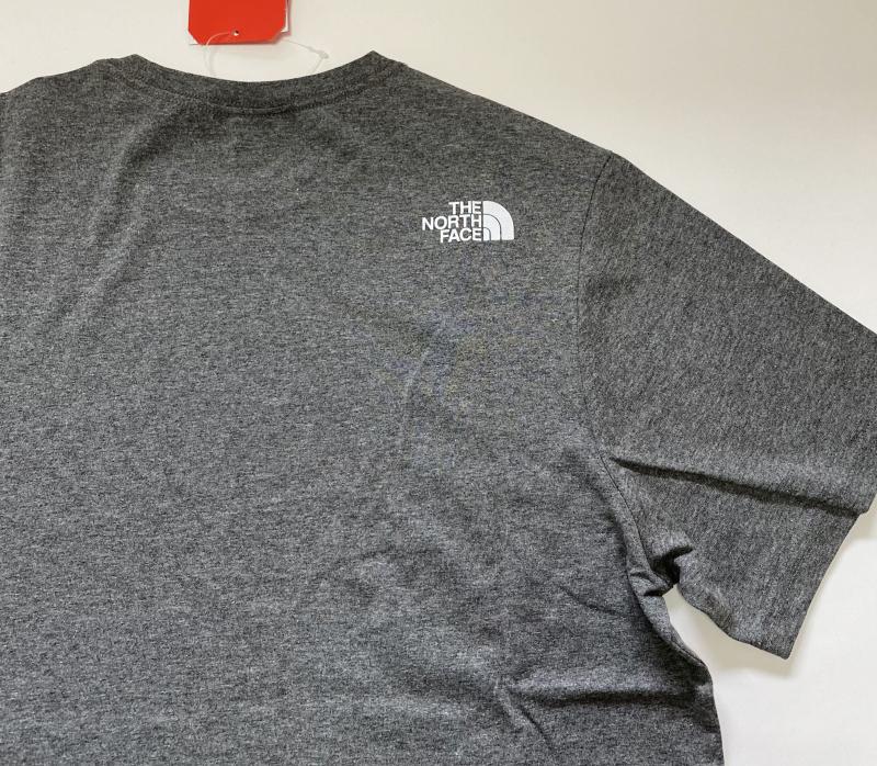 ☆THE NORTH FACE NSE Tシャツ US:M グレー 新品 送料込み♪ ノースフェイス ネバーストップ_画像6