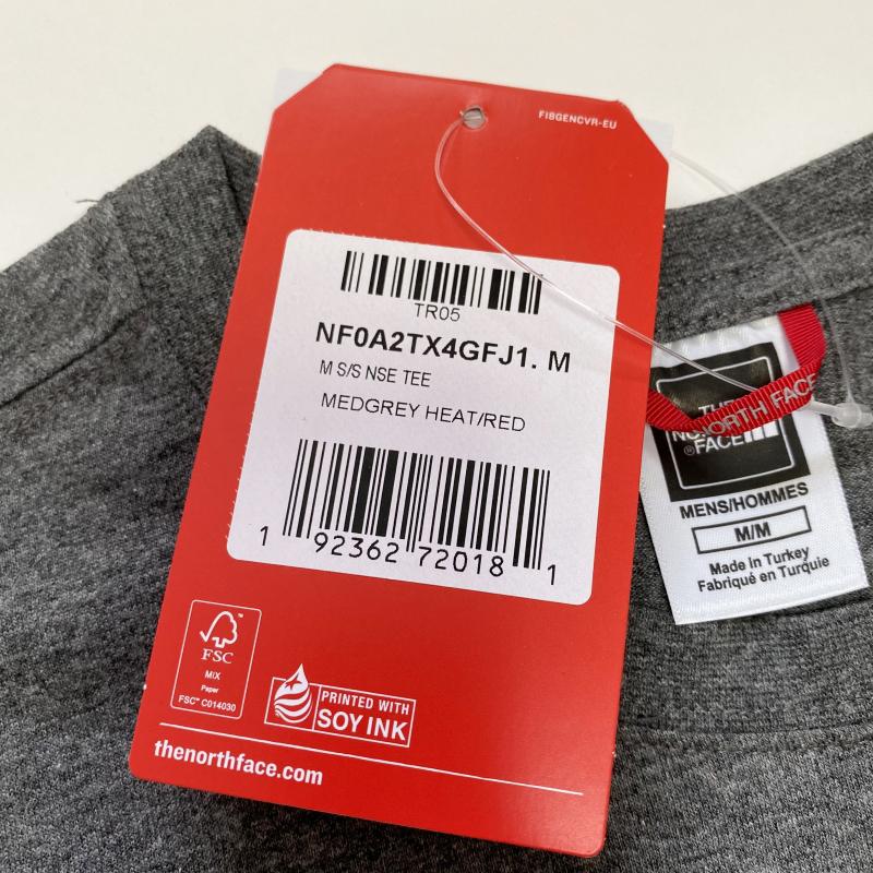 ☆THE NORTH FACE NSE Tシャツ US:M グレー 新品 送料込み♪ ノースフェイス ネバーストップ_画像2