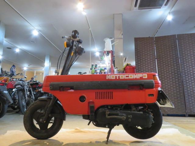 「□HONDA MOTOCOMBO AB12 ホンダ モトコンボ 50cc レッド 実動! 原付 原チャリ スクーター バイク 札幌発」の画像2