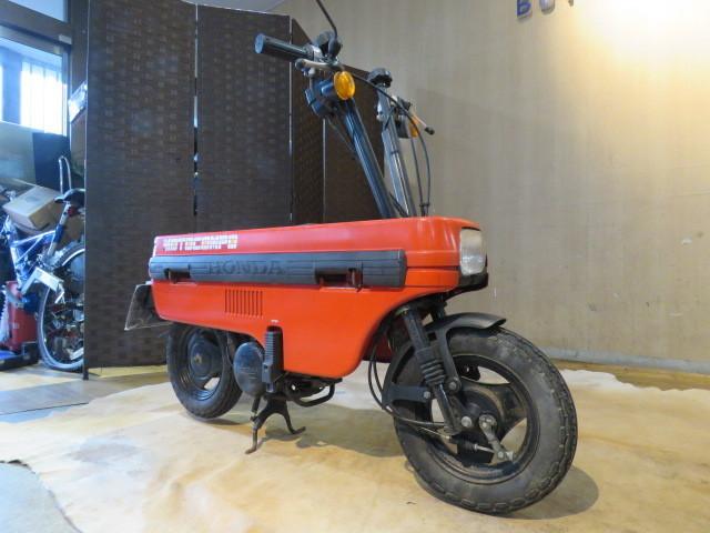「□HONDA MOTOCOMBO AB12 ホンダ モトコンボ 50cc レッド 実動! 原付 原チャリ スクーター バイク 札幌発」の画像3