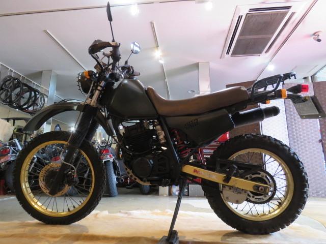 「□HONDA XLR250 MD16 ホンダ 250cc グリーン ミリタリー 実動! タイヤバリ山! 自賠R7.6 オフロード バイク 札幌発」の画像2